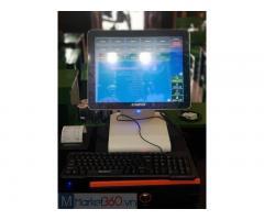 Trọn bộ máy tính tiền cảm ứng cho quán Sữa chua Hạ long tại Thanh Hóa