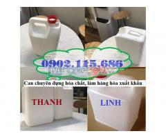 Can nhựa 5 lít đựng hóa chất