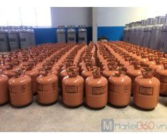 Bán gas lạnh R600 loại 6,5kg/b xuất xứ Việt Nam\
