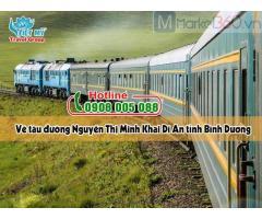 Vé tàu đường Nguyễn Thị Minh Khai Dĩ An tỉnh Bình Dương