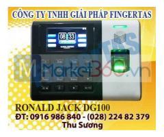 Máy chấm công vân tay thẻ cảm ứng DG100 tặng kèm phần mềm chính hãng