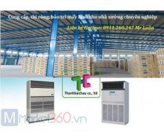 Thanh Hải Châu chuyên bán & thi công máy lạnh tủ đứng công suất lớn cho nhà xưởng, xí nghiệp