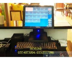 Trọn bộ máy tính tiền cảm ứng cho Quán ăn- Chả cá tại Đồng Nai