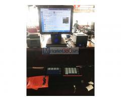 Bộ máy tính tiền cảm ứng cho Quán Lẫu- Nướng tại Quận 5 HCM