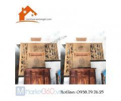 Lắp bàn thờ treo tường gỗ tại quận Tân phú hcm
