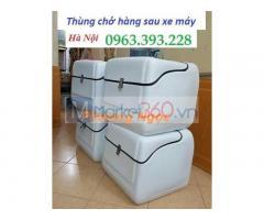 Thùng giao hàng copomsite loại trung, thùng chở hàng 51 x 52 x 60 cm, thùng ship hàng