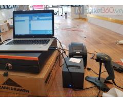 Lắp đặt trọn bộ máy tính tiền cho Shop Quần áo- Túi xách tại Hưng Yên