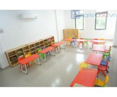 Bàn ghế nhựa trẻ em cho trường lớp mầm non, gia đình