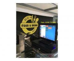 Lắp trọn bộ máy tính tiền giá rẻ cho quán trà chanh tại Tây Ninh