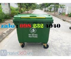 Thùng rác HDPE 660 lít