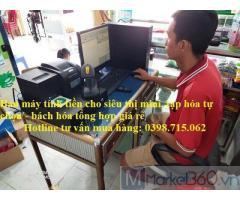 Nhận lắp đặt máy tính tiền cho cửa hàng tạp hóa, bách hóa tại Thủ Dầu Một giá rẻ