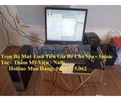 Trọn bộ máy tính tiền giá rẻ cho Spa tại Bình Dương