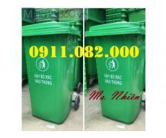 Thùng rác giá rẻ hàng đầu việt nam- thùng rác 120L 240L 660L giá rẻ-