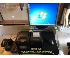 Lắp đặt trọn bộ máy tính tiền bằng mã vạch cho Shop thời trang tại lạng Sơn