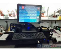 Combo máy tính tiền cảm ứng cho Quán ăn- Quán lẫu tại Hà Tĩnh