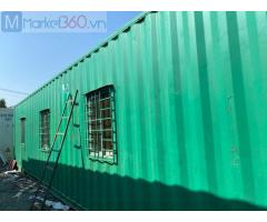 Container văn phòng 40 feet thanh lý
