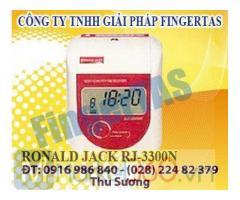 Lắp đặt máy chấm công thẻ giấy RJ3300A/N tặng kèm 300 thẻ + kệ