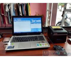 Phần mềm quản lý- tính tiền cho Shop quần áo tại Sóc Trăng