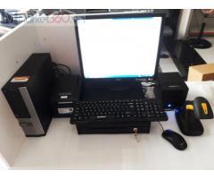 Bộ máy tính tiền bằng mã vạch cho Cửa hàng tự chọn tại Quảng Ninh