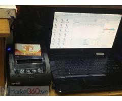 Chuyên lắp máy tính tiền cảm ứng cho quán KARAOKE tại Long An