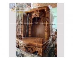 Các mẫu bàn thờ Ông Địa - Thần Tài đơn giản đẹp mắt Quận 10