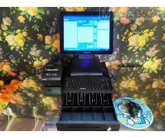 Bán trọn bộ máy tính tiền cảm ứng cho Quán Cà phê tại Tiền Giang