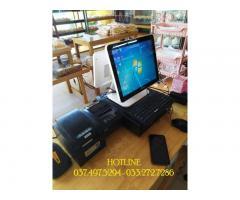 Combo máy tính tiền cảm ứng cho Cửa hàng bánh tại Bạc Liêu