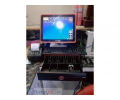 Máy tính tiền cảm ứng giá rẻ cho quán KARAOKE tại Vĩnh Long