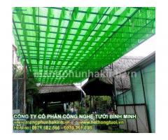 Nhà cung cấp lưới che nắng giá rẻ tại hà nội, hệ thống tưới cắt nắng , công ty thiết kế và thi công lưới che nắng