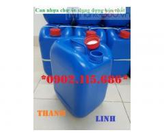 Can nhựa đựng hóa chất, axit, dung dịch trong ngành công nghiệp,...