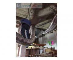 Thanh Hải Châu - Đơn vị thi công máy lạnh âm trần nối ống gió tại Bình Dương