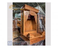 Các mẫu bộ bàn thờ Ông Địa - Thần Tài đẹp mắt giá rẻ Quận 12