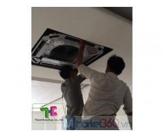 Thi công máy lạnh âm trần - Cung cấp lắp đặt máy lạnh âm trần cho nhà xưởng