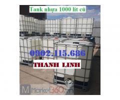Tank nhựa IBC 1000 lít cũ