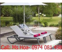 Ghế hồ bơi Grosfillex chuyên dụng ngoài trời