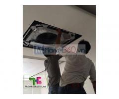 Đơn vị nhận thầu thi công máy lạnh âm trần trọn gói giá rẻ tại Q12