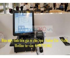 Bán máy tính tiền giá rẻ cho cửa hàng spa, shop mỹ phẩm tại Bạc Liêu