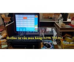Lắp combo máy tính tiền giá rẻ cho quán nhậu tại Bạc Liêu