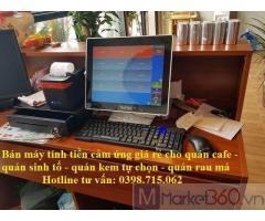 Lắp máy tính tiền cảm ứng giá rẻ cho quán cafe tại Bạc Liêu