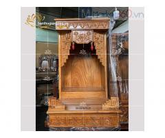 Mẫu bàn thờ Ông Địa hiện đại giá rẻ tại cửa hàng đồ thờ Quận 5