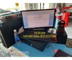 Combo máy tính tiền bằng mã vạch cho Cửa hàng bánh kẹo tại Đồng Nai