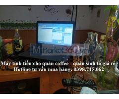 Trọn bộ máy tính tiền giá rẻ cho quán cafe tại Cần Thơ