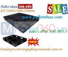 Pallet nhựa 1440x1100x140 mmm