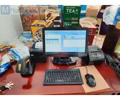 Nhận lắp đặt máy tính tiền trọn bộ cho Siêu thị Mini tại Thái Bình