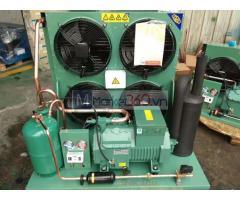Lắp đặt cụm máy nén dàn ngưng giải nhiệt gió Bitzer