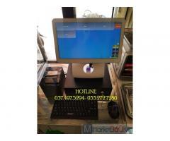 Chuyên máy tính tiền cảm ứng cho Quán Gà rán- Ăn vặt tại Lâm Đồng