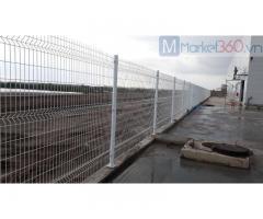 Hàng Rào Bảo Vệ Khu Công Nghiệp, Nhà Máy, Lưới Thép Hàng Rào