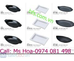 Bát đĩa melamine, bát đĩa nhựa phíp độ bền cao giá tốt