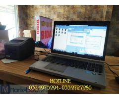 Chuyên phần mềm quản lý- tính tiền cho quán Bida tại Thái Bình