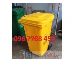 Giá thùng rác đô thị 240 lít, 120 lít các loại giá rẻ toàn quốc